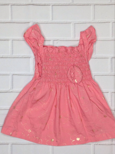 Park Bench Kids Pink & Gold Top