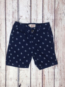 Penguin Navy Print Shorts