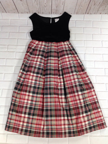 Perfectly Dressed Plaid Dress