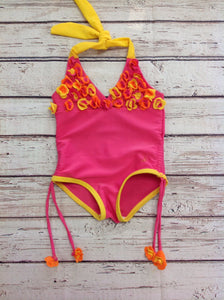 Pink & Yellow Swimwear