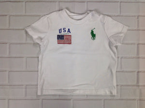 Polo Ralph Lauren White Top