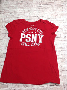 Ps From Aeropostale Red Print Top