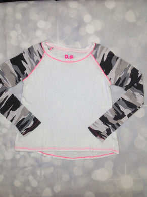 Ps From Aeropostale White & Pink Top