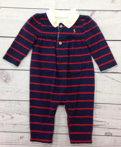 Ralph Lauren Blue & Red One Piece