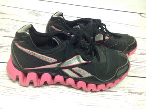 Reebok Black & Pink Sneakers