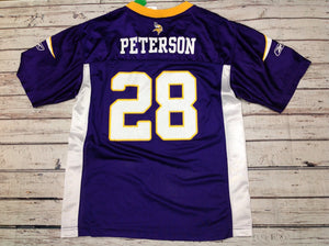 Reebok Purple Vikings Top
