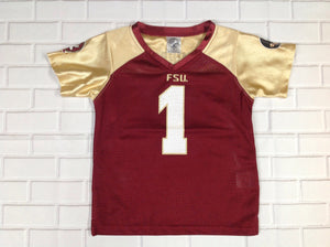 Rivalry Threads BURGUNDY & GOLD Top