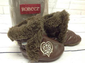 Robeez Brown & Tan Shoes