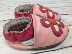 Robeez PINK PRINT Shoes