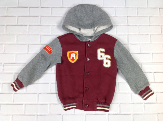 Route 66 Burgundy Jacket