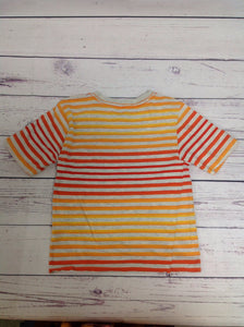 SMITH'S AMERICAN Multi-Color Stripe Top