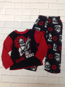 STAR WARS Black & Red Star Wars Sleepwear