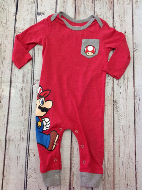 SUPER MARIO Red Print One Piece