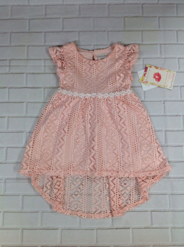 SWEETHEART ROSE PEACH PRINT Dress