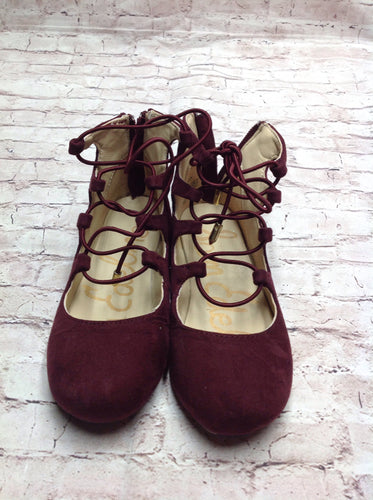 Sam Edelman Burgundy Shoes