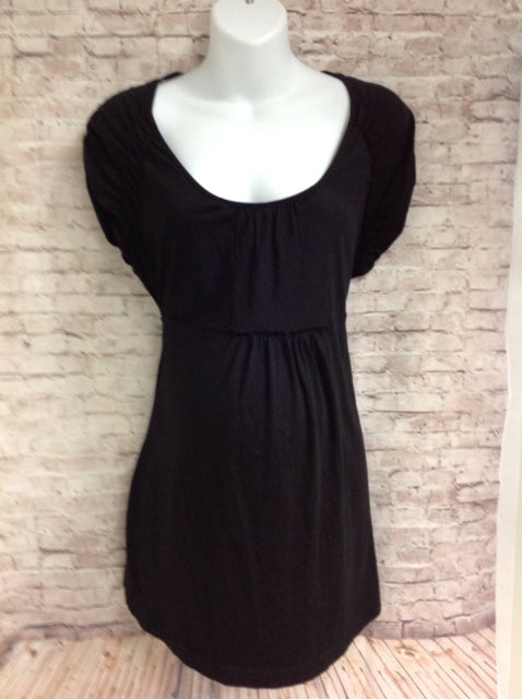 Size Large Duo Black Solid Top