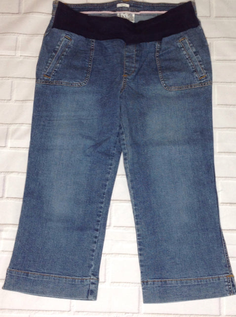 Size Large Duo Maternity Blue Denim Jeans