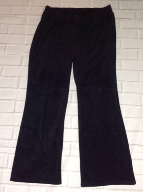 Size Large Motherhood Black Velour Pants