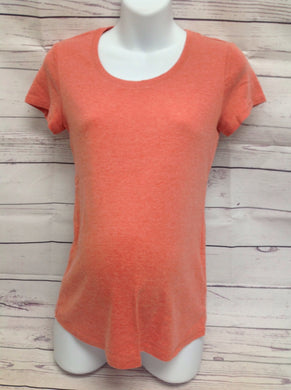 Size M Motherhood Peach Solid Top