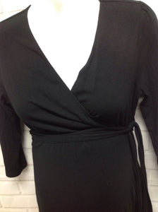 Size Medium Gap Maternity Black Dress