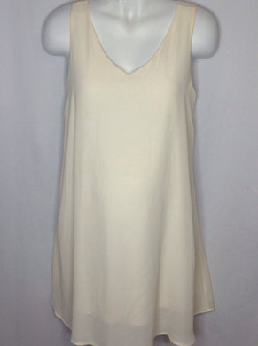 Size Medium PINK BLUSH Cream Dress