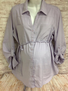 Size XL Motherhood Purple Top