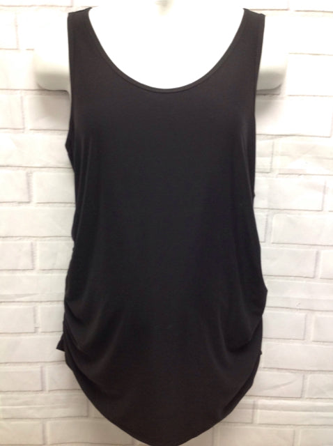 Size XL Time And Tru Black Solid Top