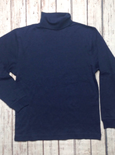 Sonoma Blue Turtleneck Top
