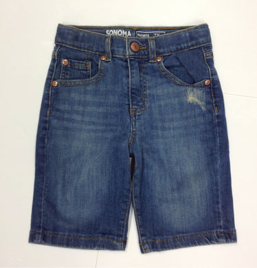 Sonoma Denim Solid Shorts