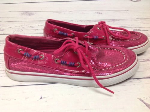 Sperry Pink Sneakers