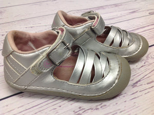 Stride Rite Silver Shoes