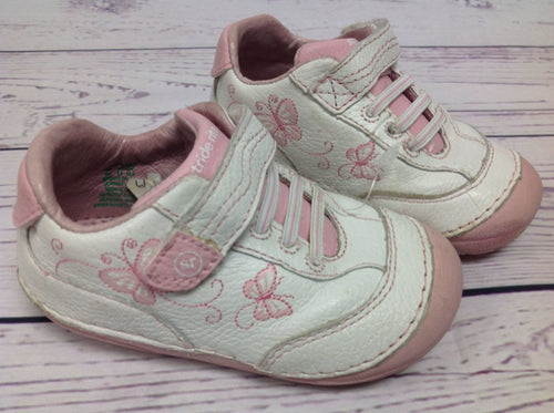 Stride Rite White & Pink Shoes