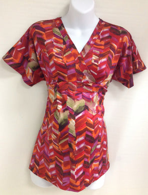 THREE SEASONS Multi-Color Top