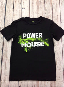 Tekgear Black Print Power House Top