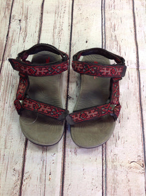 Teva Red & Black Sandals