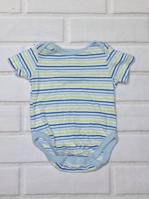 The Place Baby Blue & Yellow Onesie