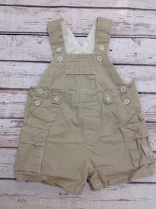 The Place Beige Shortalls