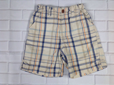 The Place Beige Stripe Shorts