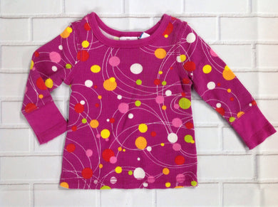 The Place Berry Print Top
