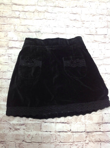 The Place Black Lace Skirt