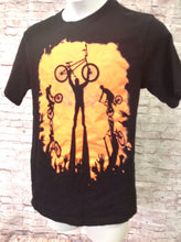 The Place Black Print Bikes Top