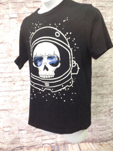 The Place Black Print Skull Top