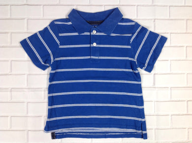 The Place Blue & White Stripe Top