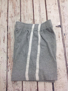 The Place GRAY & WHITE Stripe Shorts