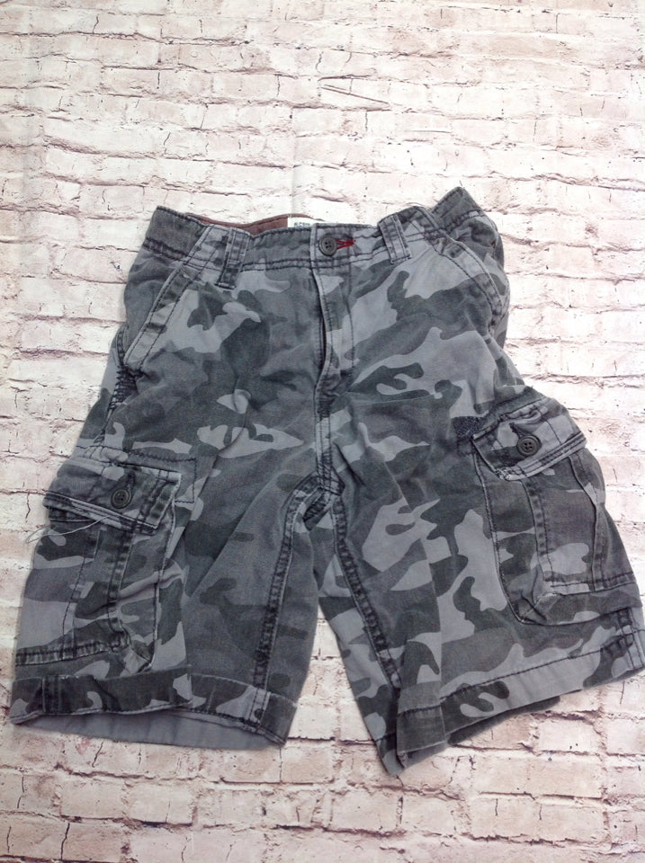 The Place Gray Camouflage Shorts