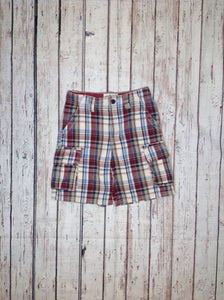 The Place Multi-Color Plaid Shorts