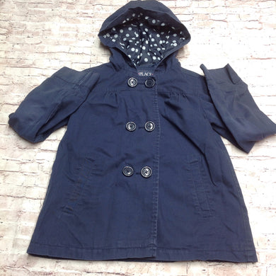 The Place Navy Blue Coat
