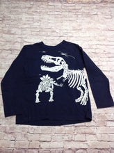 The Place Navy Print Dinosaur Top