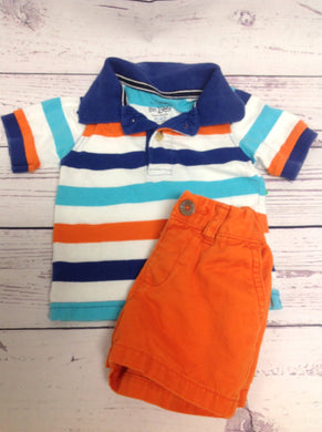The Place Orange & Blue 2 PC Outfit