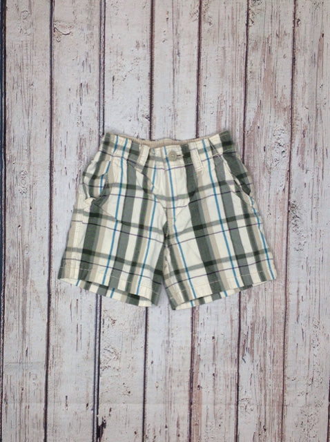 The Place TAN PRINT Shorts